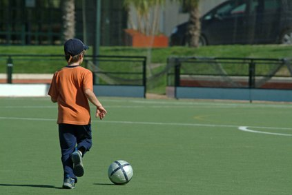 Make soccer drills fun for young players so they do not lose focus.