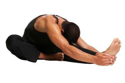 Stretching the biceps femoris can be done while seated or standing.
