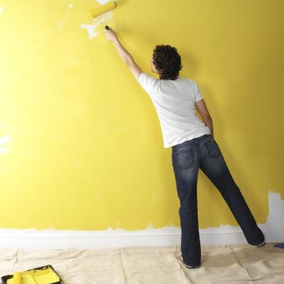 Things You Need To Paint A Room how to paint a room & contrast color for one wall | ehow