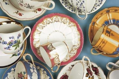 Porcelain is a traditional 18th anniversary gift.