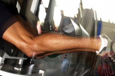 Athletes may experience calf strain, but stretching can help.