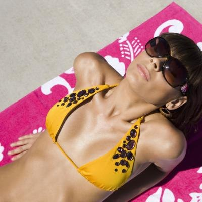 Tanning is the easiest way to increase your body's melanin levels.