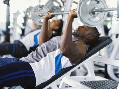 Weight training is one type of anaerobic exercise.