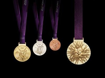 2012 London Olympic medals and Paralympic medal