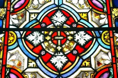 how to create a stained glass window