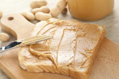 peanut butter is a good snack for adding calories