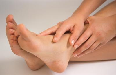 Plantar fasciitis is a common cause of pain at the bottom of the foot.