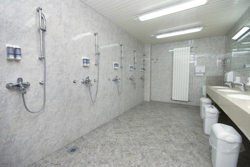 Locker room shower etiquette ehow