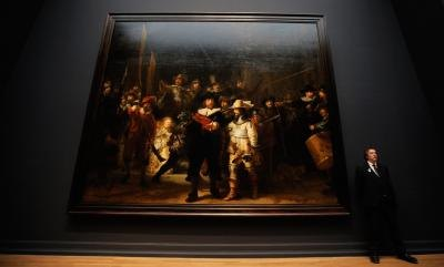 "Rembrandt's ""The Nightwatch"" is an example of Baroque art."