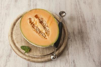 Indulge in low-oxalate fruits like cantaloupe.