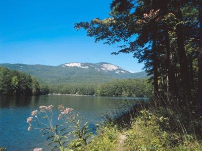 Mountain landscape typically found in the northeastern United States.