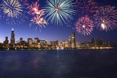 Chicago has a variety of activities for under-21 people on New Year's Eve, including a midnight fireworks display