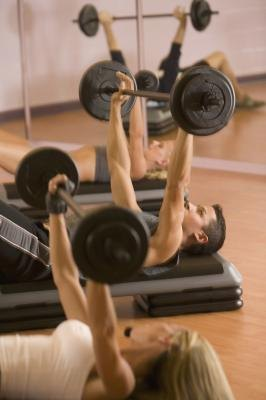 Bench presses build your chest, shoulders and upper arms.