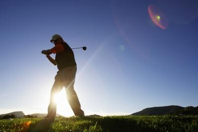 Professional golfers earn money based on tournament success.