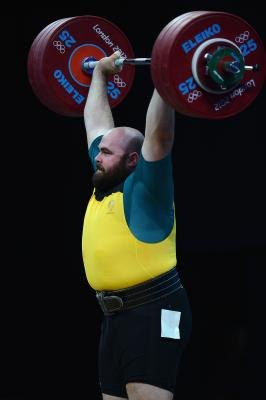 Olympic weightlifters use belts during competitions.