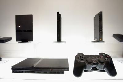 Sony PlayStation 2 slim model console