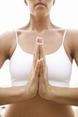 Yoga provides relief for chest tightness.