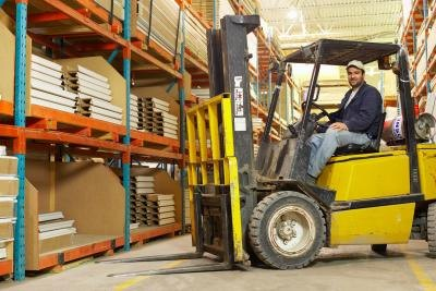 Forklift parts are broken up into different categories.