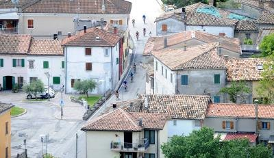 Town of Rimini, Italy in the Emilia-Romagna region