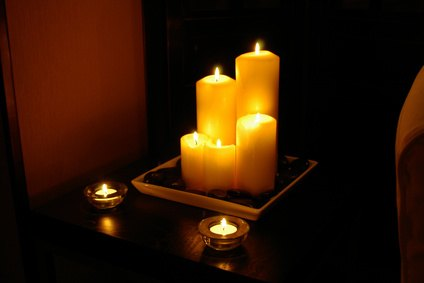 Light candles to create a romantic mood Best candles for romantic night
