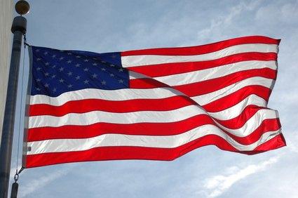 US Flag Etiquette in the Rain