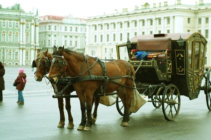 Horse drawn carriage types with pictures ehow for Chaise carriage