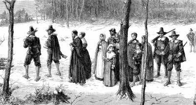 what was the relationship between puritans and quakers