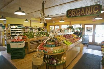 Make sure a portion of the store is set aside for organic foods.