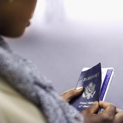 Make certain the executive's travel documents are up-to-date.