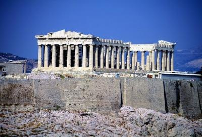 comparison of roman and greek architecture The art and architecture of ancient greece and rome played a foundational role  of the history of western art, establishing numerous key concepts, techniques,.