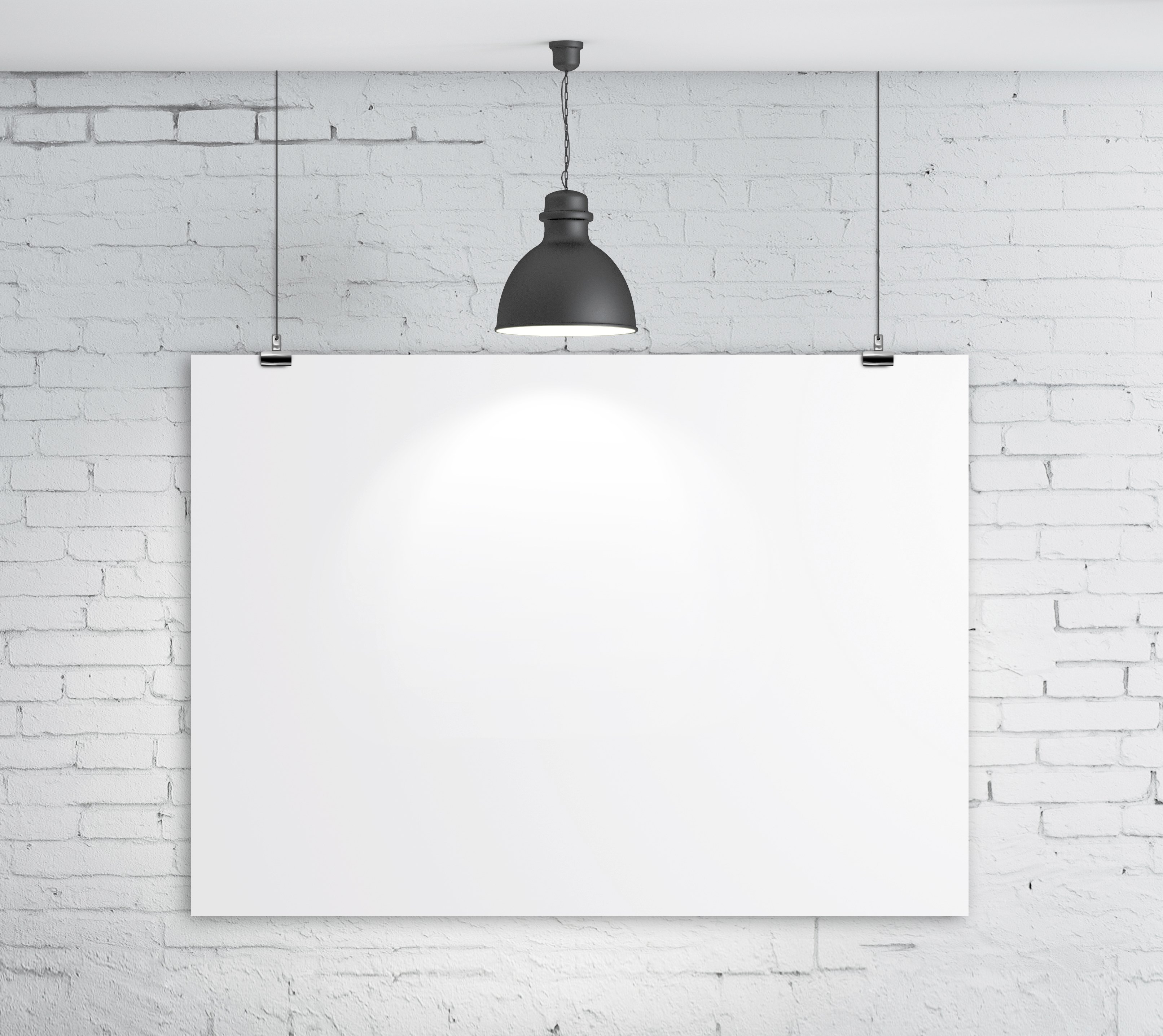 What is a standard size poster board