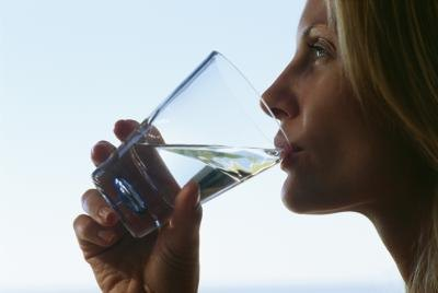 To keep your skin at its healthiest, you should always make sure you drink a lot of water throughout the day.
