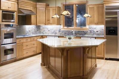 What Color Floors Match Light Maple Cabinets in the ...