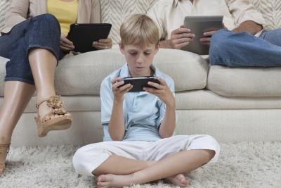 Gadgets like portable games can have a negative impact on an individual's health.