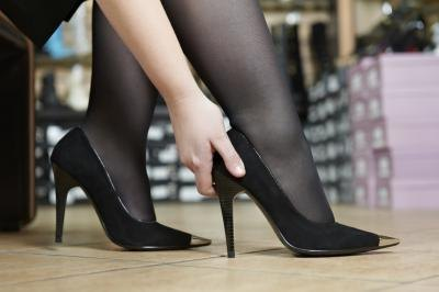 Pantyhose Are Best Worn During Conservative Events