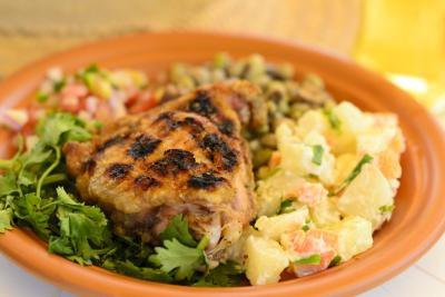 The best side dishes for chicken with pictures ehow for What sides go with barbecue chicken