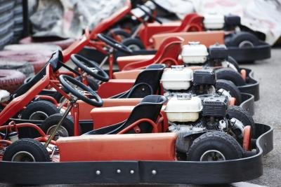 Contact your licensing department to learn the rules governing go-kart businesses.