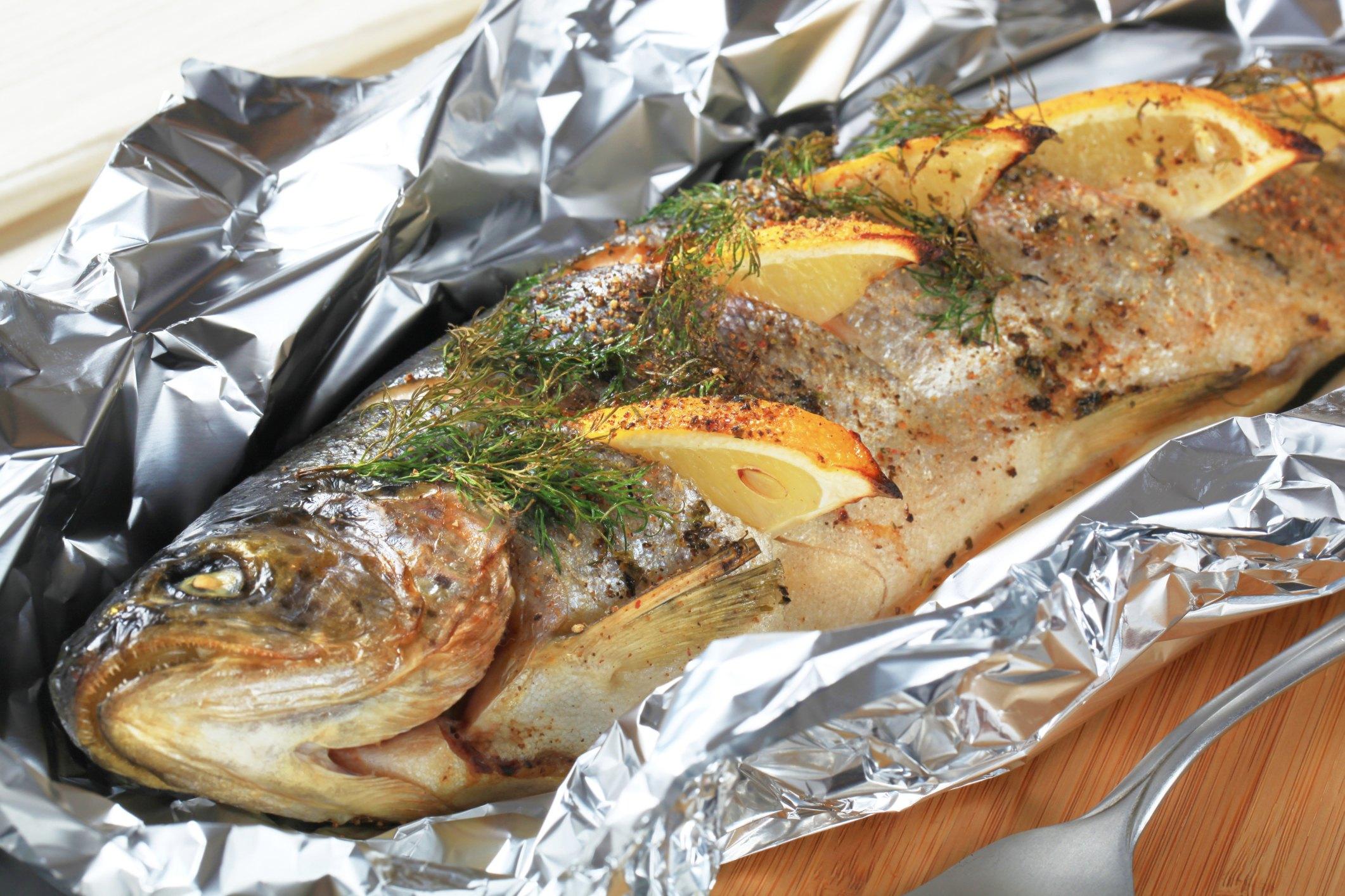 Рецепт фаршированной рыбы в духовке
