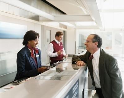 Airline Ticket Agent Ticket Agent Digital Vision