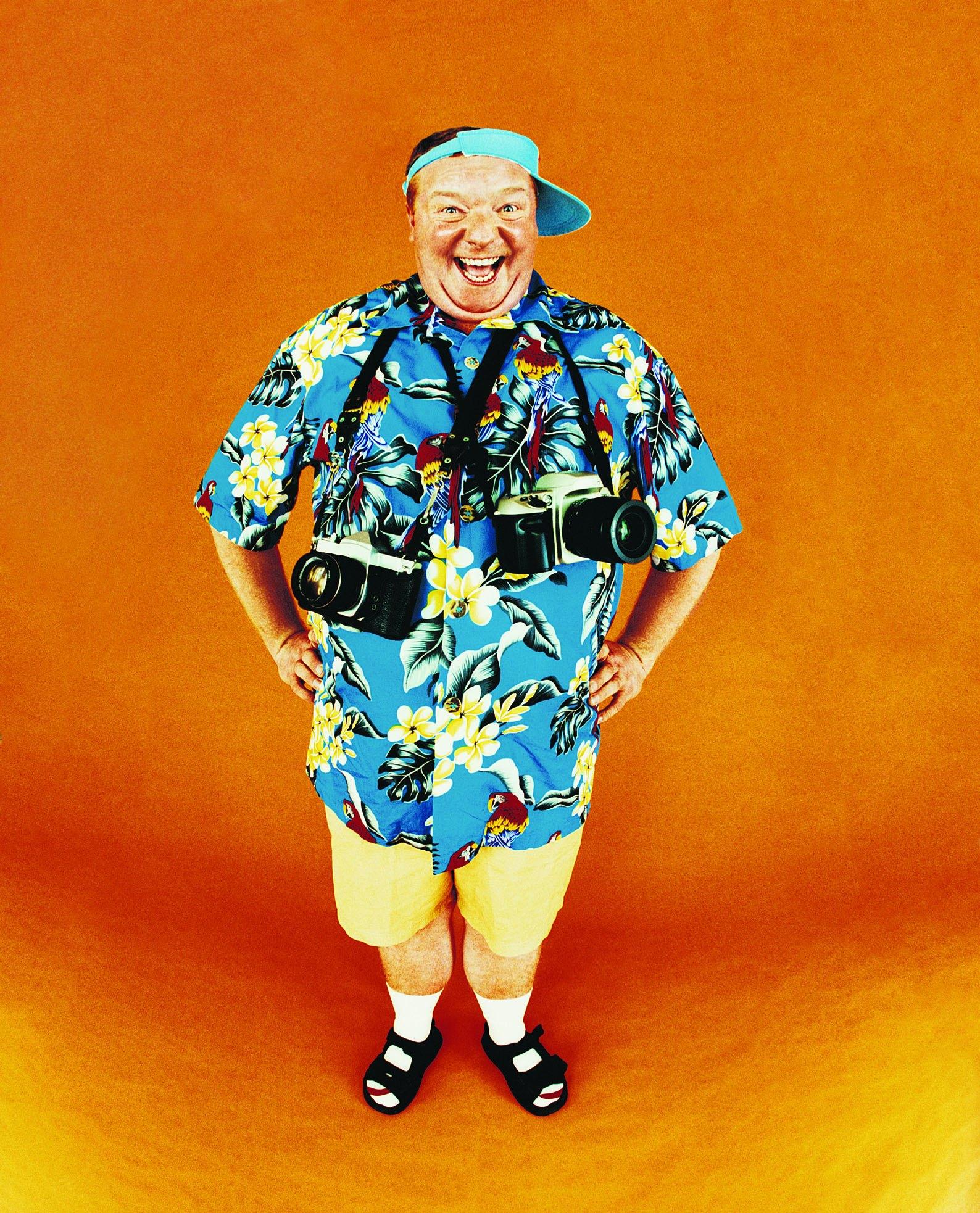 How to Make an Easy-To-Do Tacky Tourist Costume | eHow | 1588 x 1966 jpeg 662kB