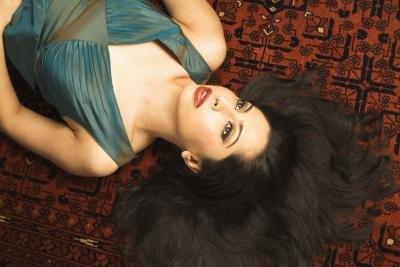 Arabic model on posing