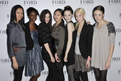 Without agencies such as Ford, many model would never get a break.