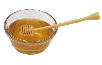 Mix honey and lemon juice.