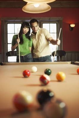 Pool table space requirements with pictures ehow - Space needed for pool table ...