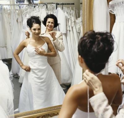 Bridal store.