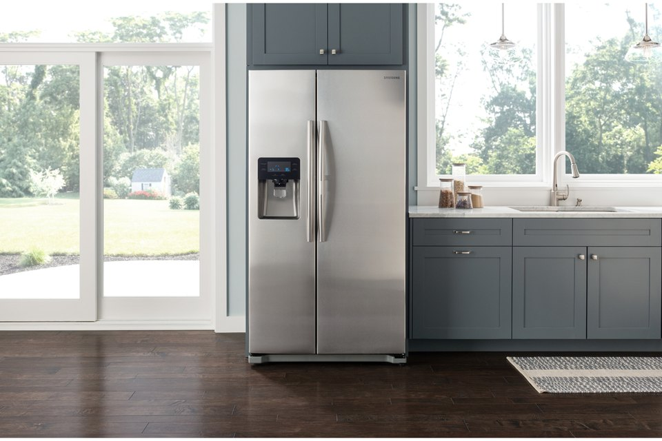 Fridge In Kitchen tips for moving a fridge | tech life - samsung