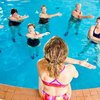 Water Aerobics & Calf Stretches