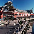 Restaurants at South Street Seaport (Pier 17) in New York City