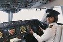El salario promedio de un piloto de areolínea regional