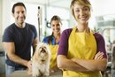 El ingreso promedio de un peluquero de perros